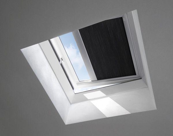 VELUX Elektro Wabenplissee für Flachdachfenster