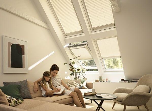 VELUX Solar Plissee Faltstore FSL Ambiente