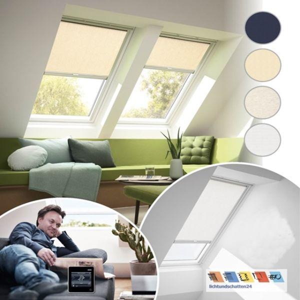VELUX Solar Sichtschutzrollo RSL Funktion